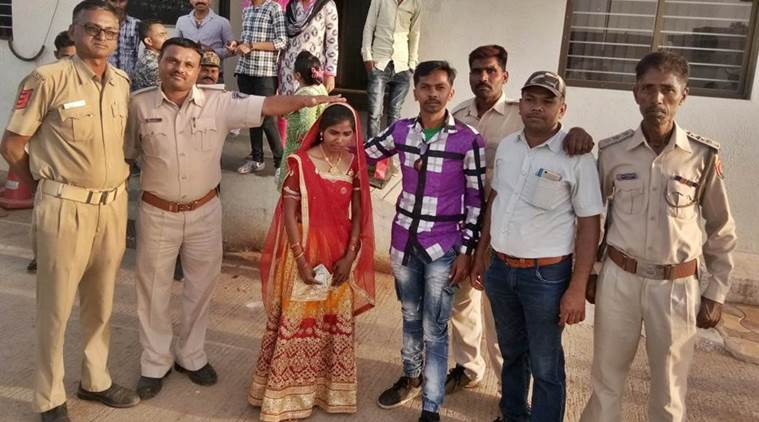morbi, woman dumped by lover, home guard, halvad police, gujarat, domestic quarrel, bizarre marriage, indian express