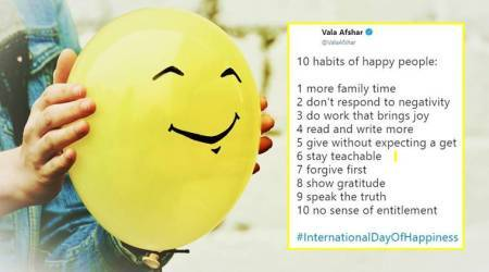 International Day of Happiness: Twitter buzzes with jolly, cheery, lively tweets