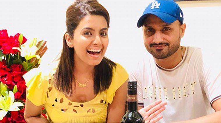 How Harbhajan Singh celebrated wife Geeta Basra's birthday