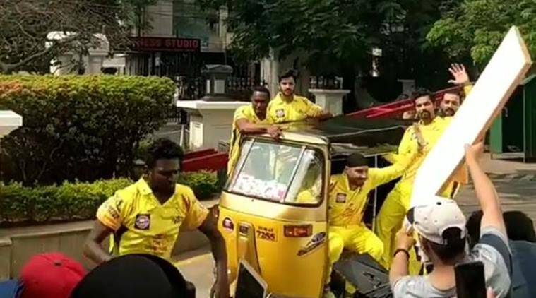 MS Dhoni back in Chennai as CSK start preparation for IPL 2018
