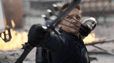 Where is Hawkeye in Avengers Infinity War?