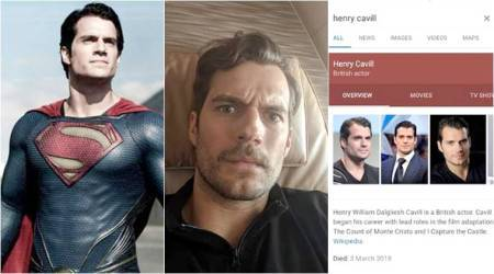 Superman Henry Cavill found out he died 3 days ago! His expression on the discovery ispriceless