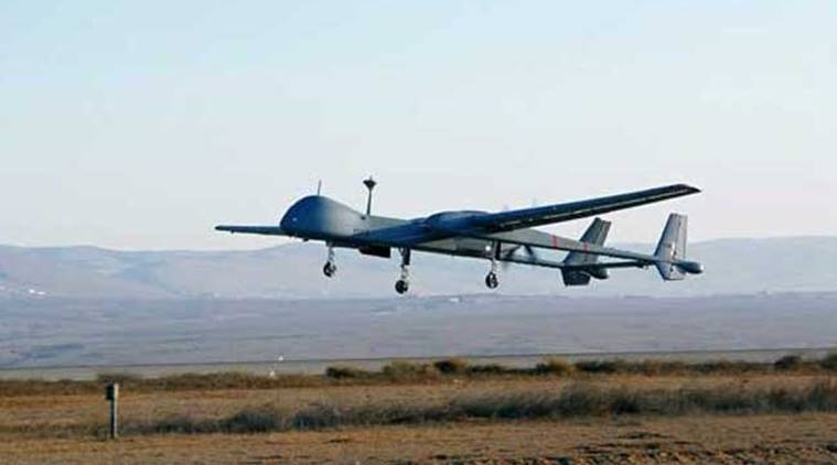 Indian Navy Unmanned Aerial Vehicle Heron crash gujarat