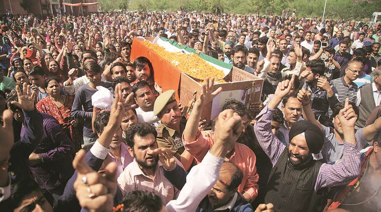 Kupwara encounter: Cop killed in district family left 28 years ago