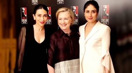 Hillary Clinton swaps pantsuits for Indian kurta, while Karisma-Kareena Kapoor go contemporary