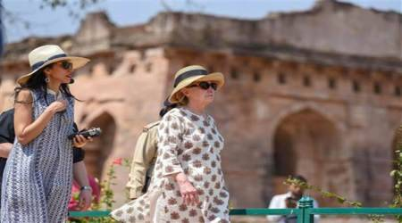 Hillary Clinton in India: Former First Lady of US visits Madhya Pradesh on invite of Maheshwar royal