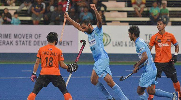 India are playing Ireland in Sultan Azlan Shah Cup.