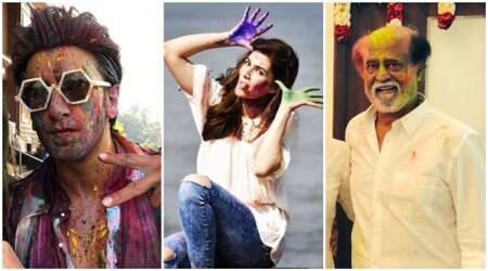Holi with indian bollywood stars