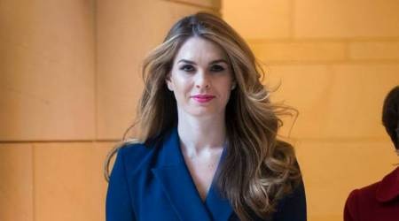 Trusted Trump aide Hope Hicks resigns as White House communicationsdirector
