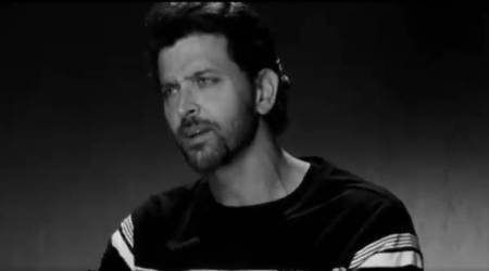 Hrithik Roshan encourages the next generation to be fearless