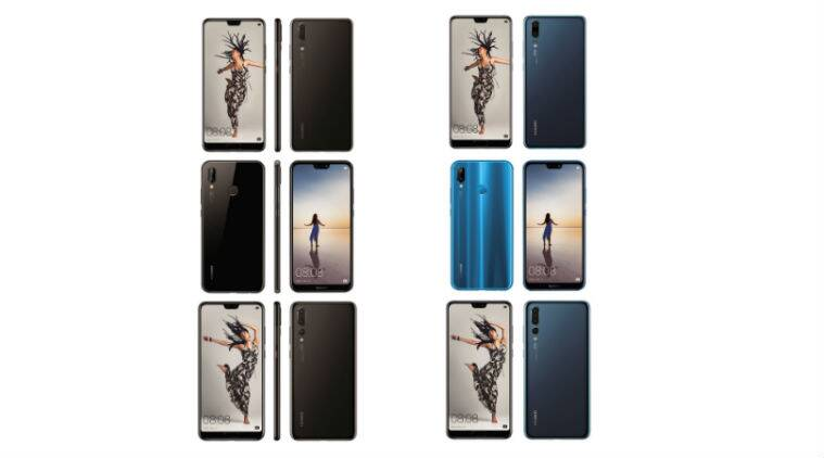 Huawei P20 Pro, P20, And P20 Lite Press Renders Leaked