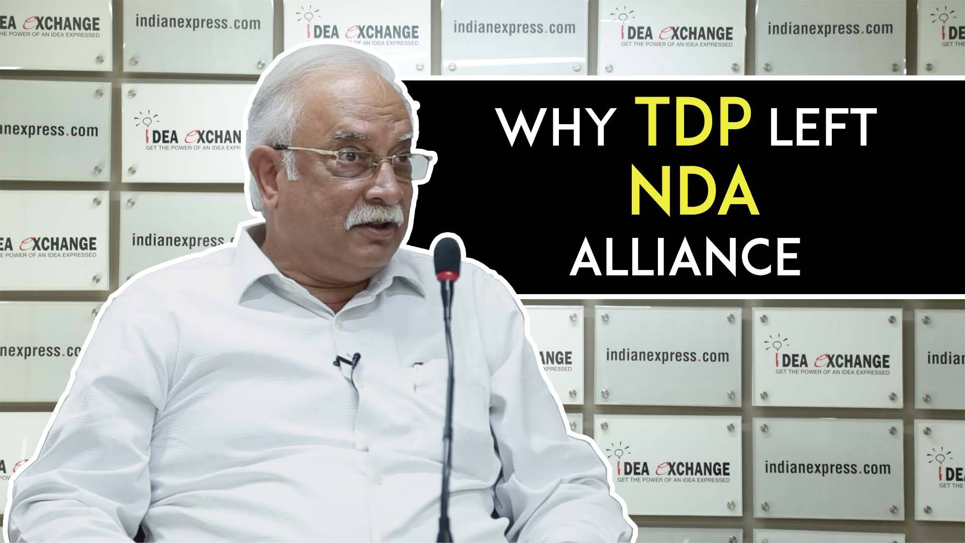 TDP Leader Ashok Gajapathi Raju On Why TDP Broke Its Alliance WithNDA