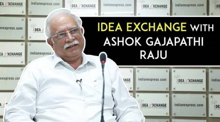 Idea Exchange With Senior TDP Leader Ashok Gajapathi Raju