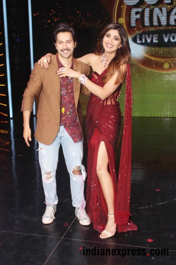 varun dhawan and shilpa shetty