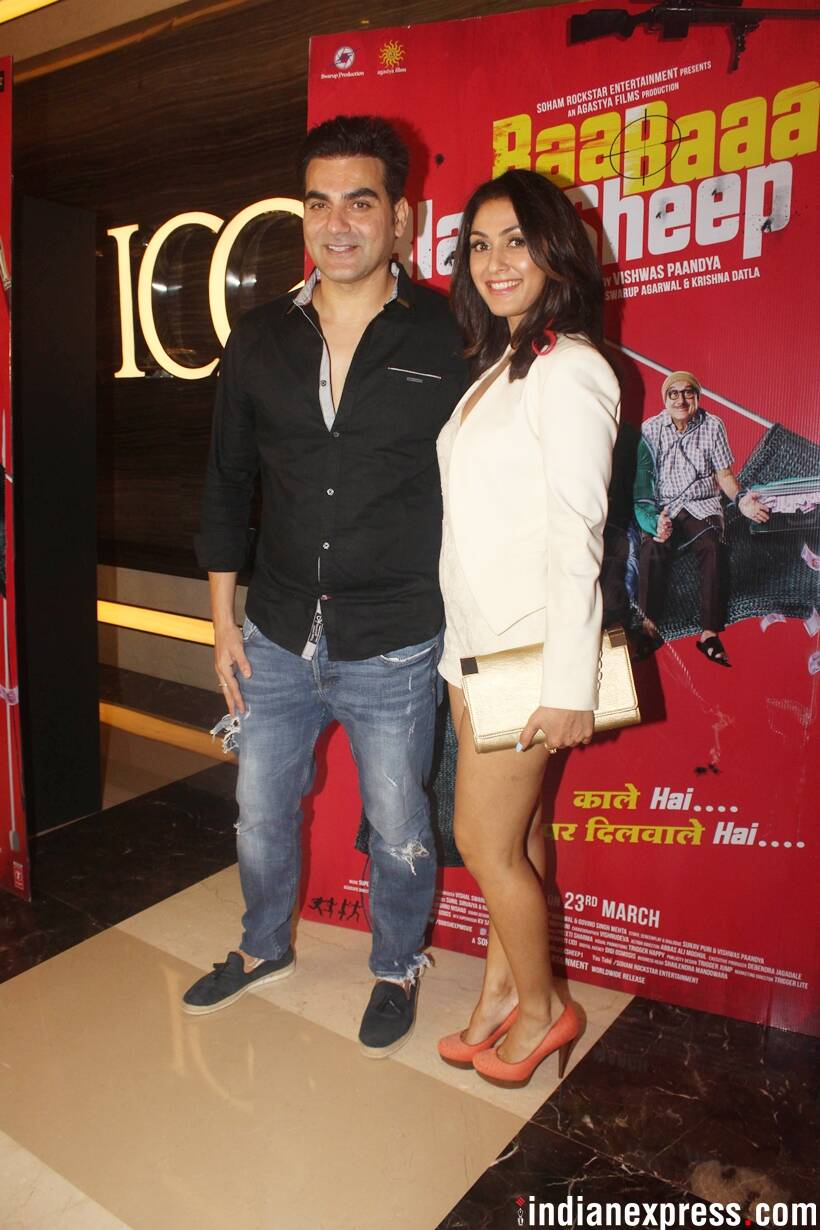 arbaaz khan and manjari fadnis