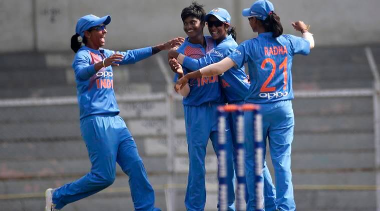 Megan Schutt claims hat-trick Australia beat India by 36 runs