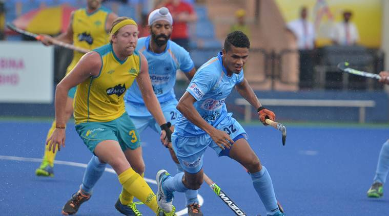 India took on Australia in their third game of Sultan Azlan Shah Cup