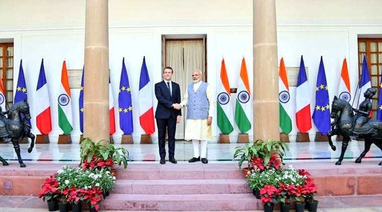 PM Modi, Macron hold talks as India, France ink 14 pacts including on nuclear energy, security