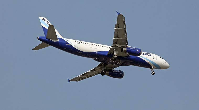 IndiGo plane's tyre bursts, catches fire on landing at Hyderabad airport