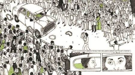 Tales of the Iron Lady: A graphic novel explores multiple facets in the life of Indira Gandhi