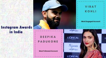 Instagram India Awards: Virat Kohli, Deepika Padukone emerge as winners on the app for 2017