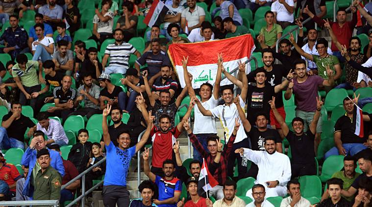 Iraqi fans celebrate lifting of three-decade FIFA ban