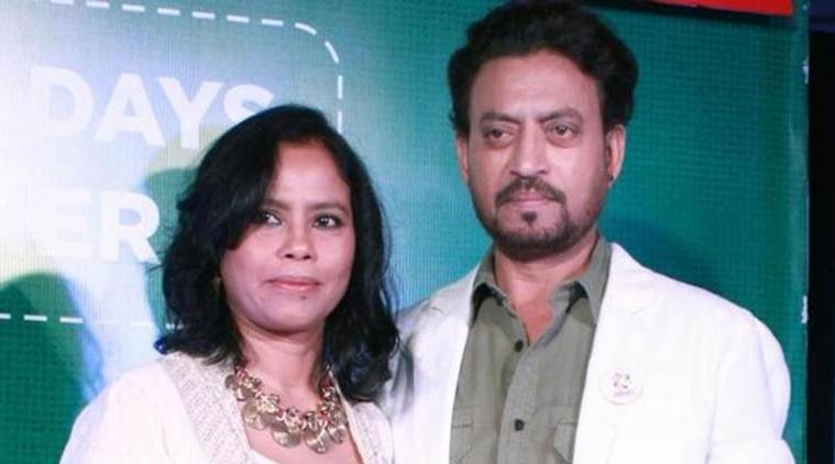 Irrfan Khan's wife on his health: Let's not waste our precious energies to only know what it is