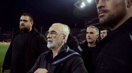 Greek prosecutor to probe armed PAOK owner who invaded pitch during match