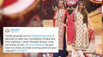'This is beyond appalling': Pakistani show painted fair models brown and Netizens are furious