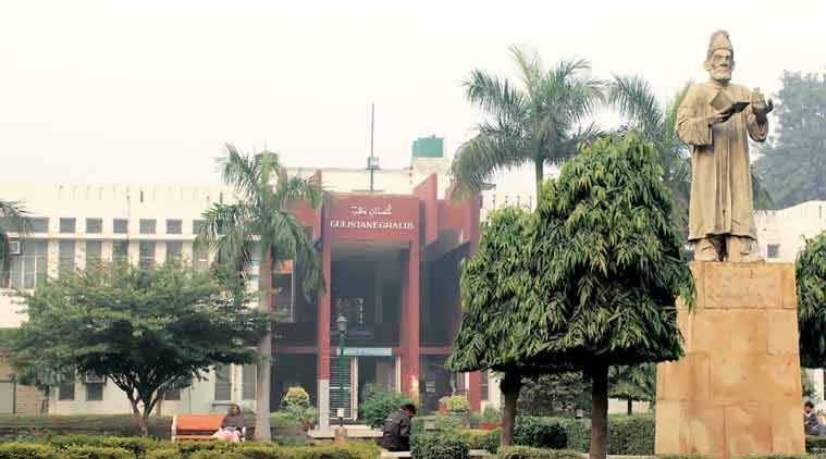 jamia millia islamia, jmi, jamia minority status, jamia university, hrd ministry, indian express