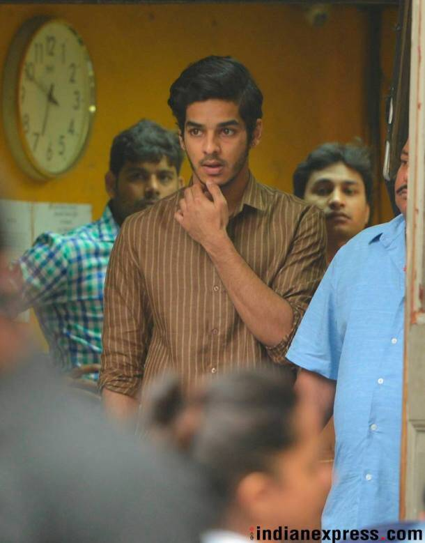 Janhvi Kapoor and Ishaan Khatter shooting for Dhadak