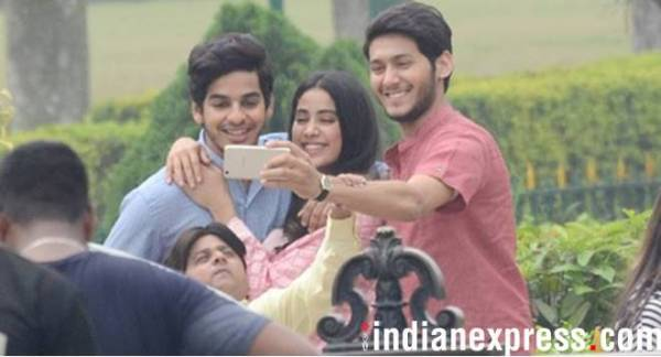 janhvi kapoor, ishaan khatter photos from dhadak