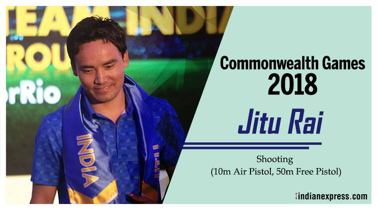 Jitu Rai, Commonwealth Games, 2018 cwg