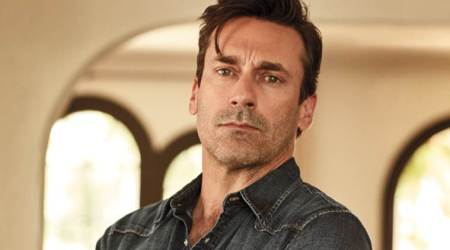 Jon Hamm is likely to join Natalie Portman in the astronaut drama Pale Blue Dot