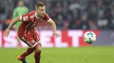 Joshua Kimmich extends deal with Bayern Munich to 2023