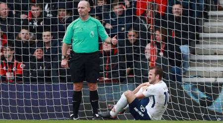 Harry Kane injured in Tottenham Hotspur 4-1 win over Bournemouth