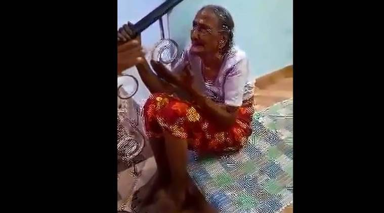 Woman Accused Of Brutally Beating Up 90-Year-Old Grandmother In Kerala
