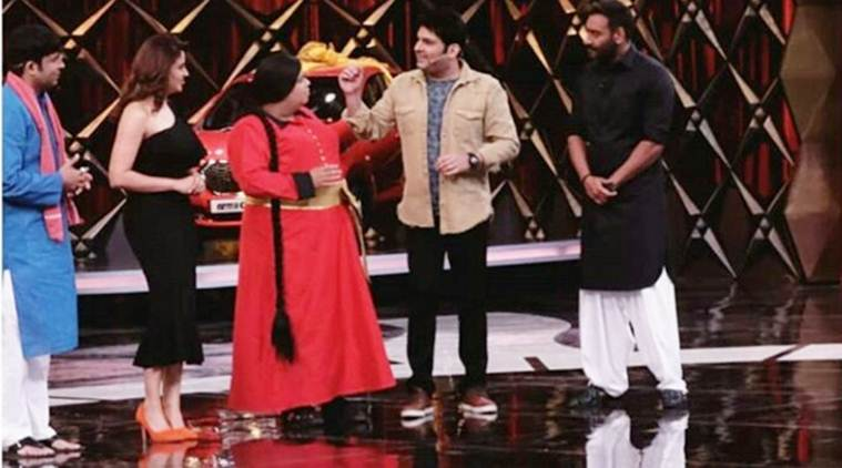Ajay Devgn is the first guest on Family Time With Kapil Sharma, see photos and videos of the episode