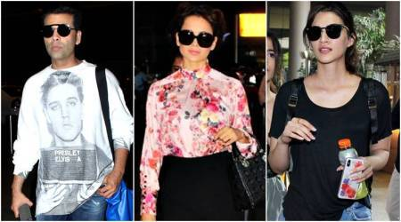 Karan Johar, Kangana Ranaut, Kriti Sanon: Best airport looks of the week (Mar 4- Mar 10)