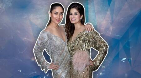 Kareena Kapoor Khan shines like a true star in this Manish Malhotra gown