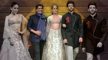 Kareena Kapoor Khan, Kartik Aaryan turn showstoppers for Manish Malhotra inSingapore