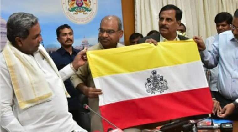 Siddaramaiah unveils proposed state flag for Karnataka