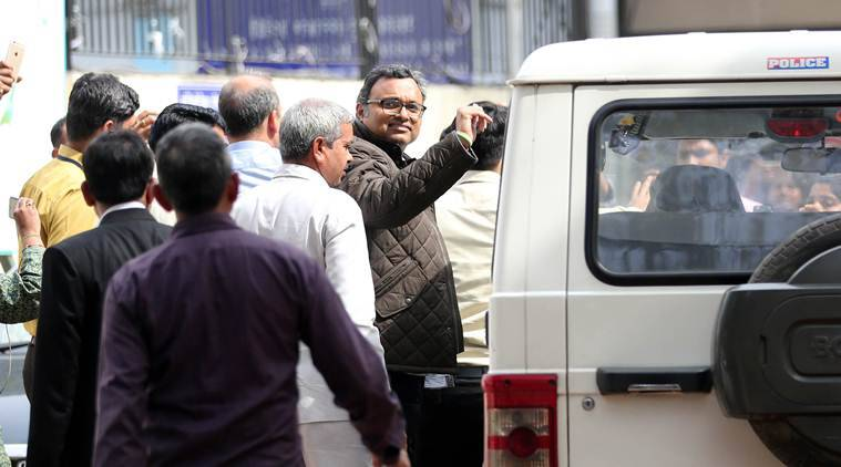 Karti to stay in CBI custody for five more days