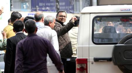 INX Media case: Karti Chidambaram with CBI for 5 days, agency to confront him with papers,co-accused