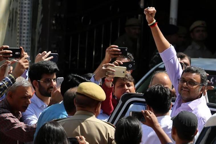 Karti Chidambaram custody extended in INX Media case