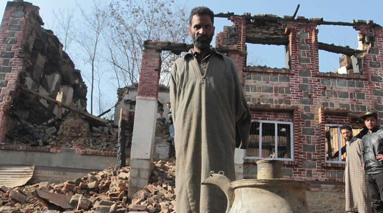In the ashes of an encounter in Kashmir, 30 yrs of a poet's work