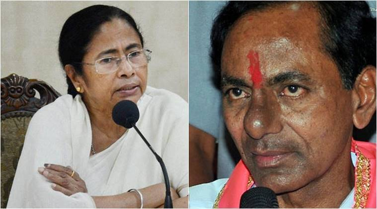 KCR meets Mamata to discuss federal front