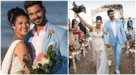Rochelle Rao and Keith Sequeira are married. See all photos, videos from the beach wedding