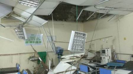 Ceiling collapses at Mumbai's KEM Hospital, 2 patients injured