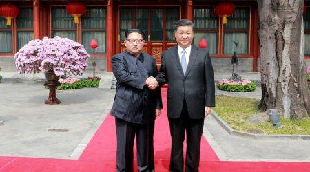 China says Xi Jinping met with North Korea's Kim Jong Un